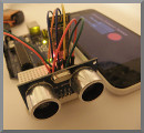 ultrasonic distance sensor demo image